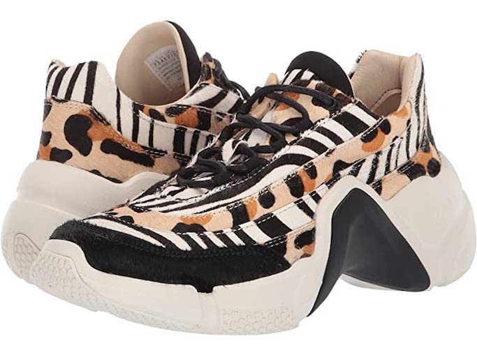 mark nason, leopard print, zebra print, animal print sneakers