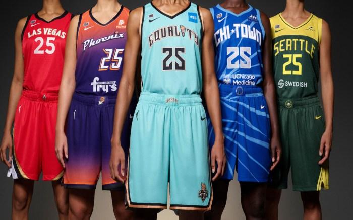 Nike WBNA uniforms