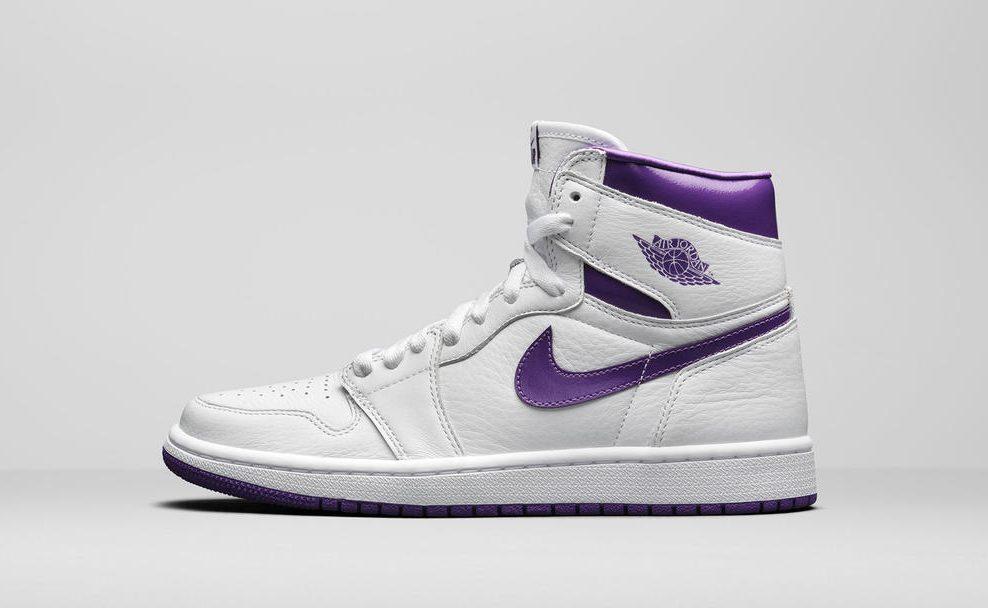 Air Jordan 1 High Women's 'Court Purple'