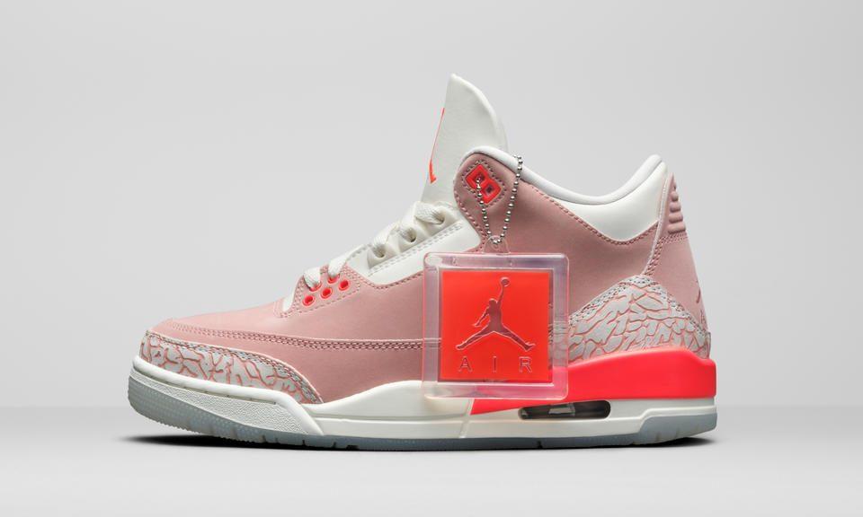 Air Jordan 3 Women's 'Rust Pink'