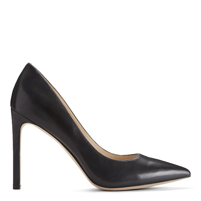 nine west, black pumps