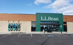 An exterior view of the L.L.Bean