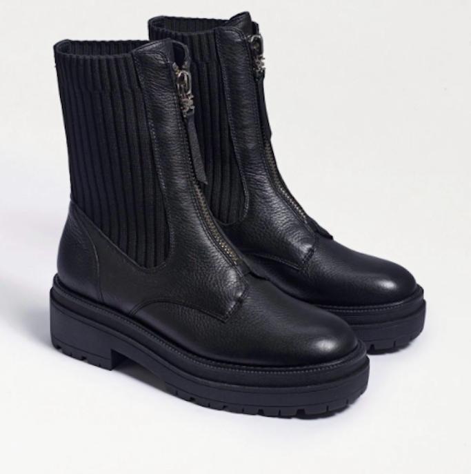 Sam Edelman, lug sole boots, combat boots, chelsea boots