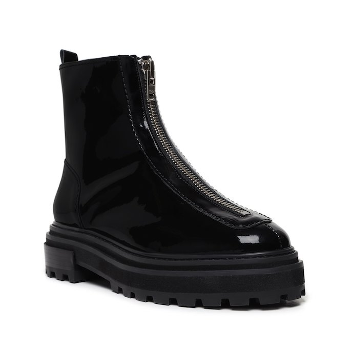 Schutz, Lug sole boots, black boots