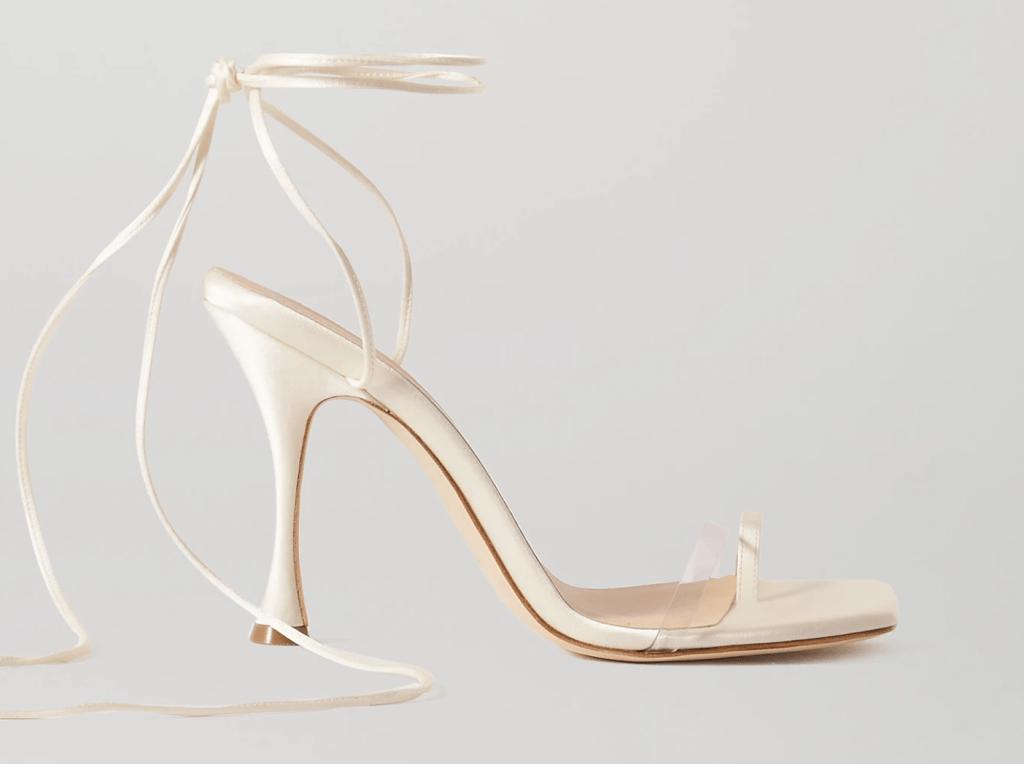 magda butrym, sandals, heels, big toe