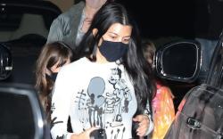 Kourtney Kardashian dines at Nobu Malibu