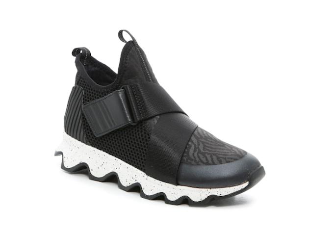 sorel, kinetic sneakers, high top sneakers