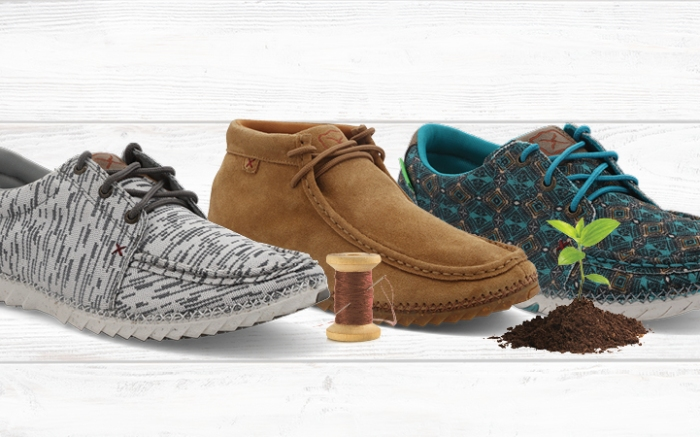 Three TwistedX footwear products utilizing the ZeroX construction method