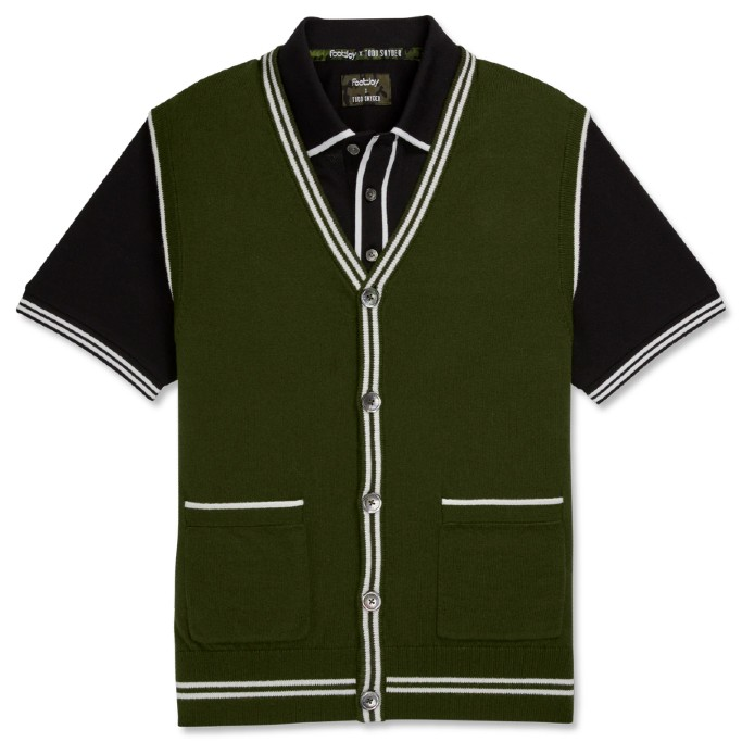 FootJoy x Todd Snyder Cardigan Sweater Vest