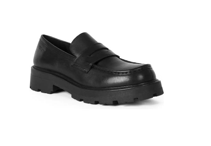 vagabond shoemakers, black loafer, platform loafer, chunky sole loafer
