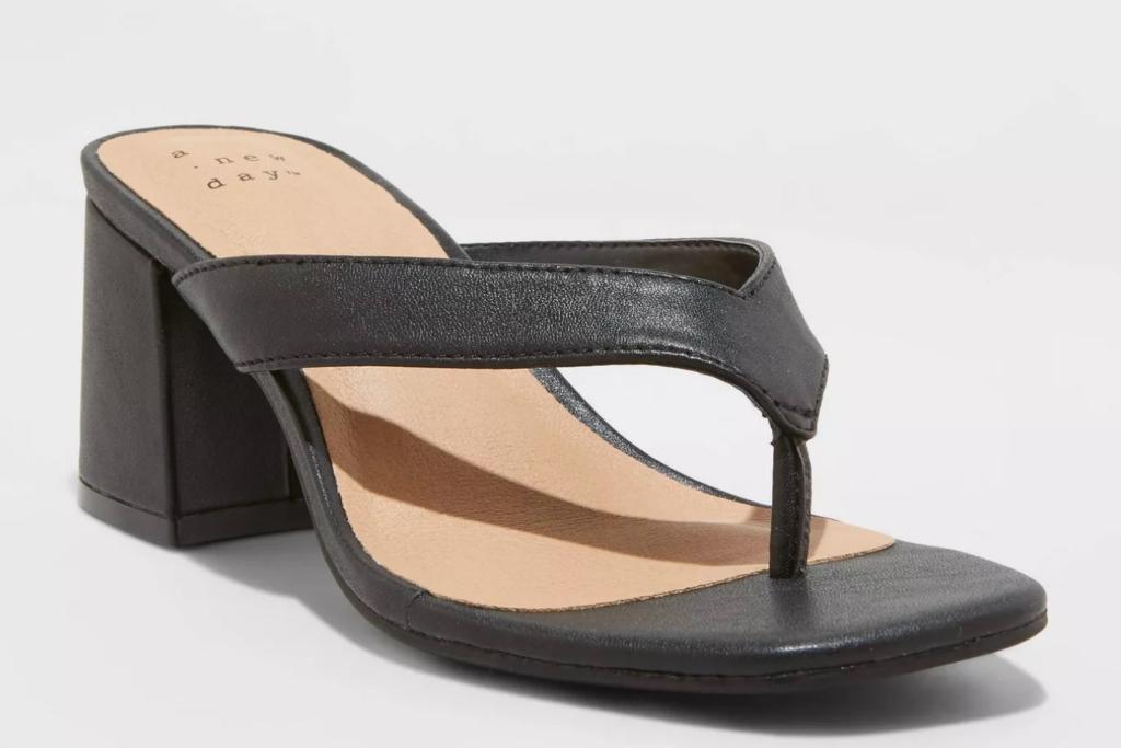 A New Day Hazel Heel Thong Sandals, Best Target Sandals
