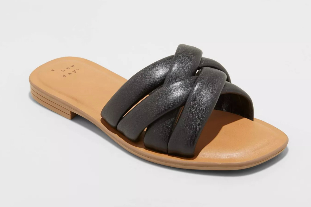 A New Day, Rory Padded Slide Sandals, Target Sandals