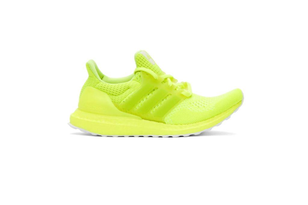 Adidas Originals Yellow Ultraboost 1.0 DNA Sneakers, Neon Sneakers