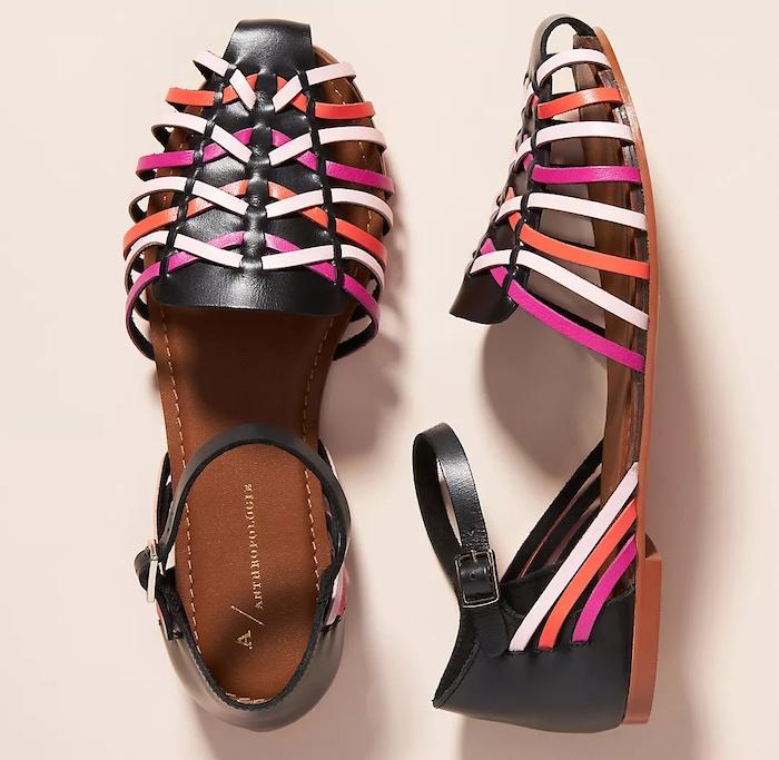 Anthropologie huarache sandal