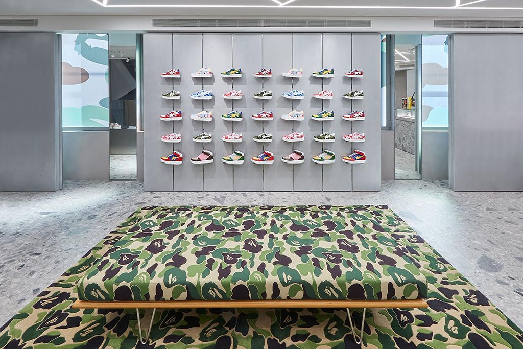 Bape Sta Bape Store London