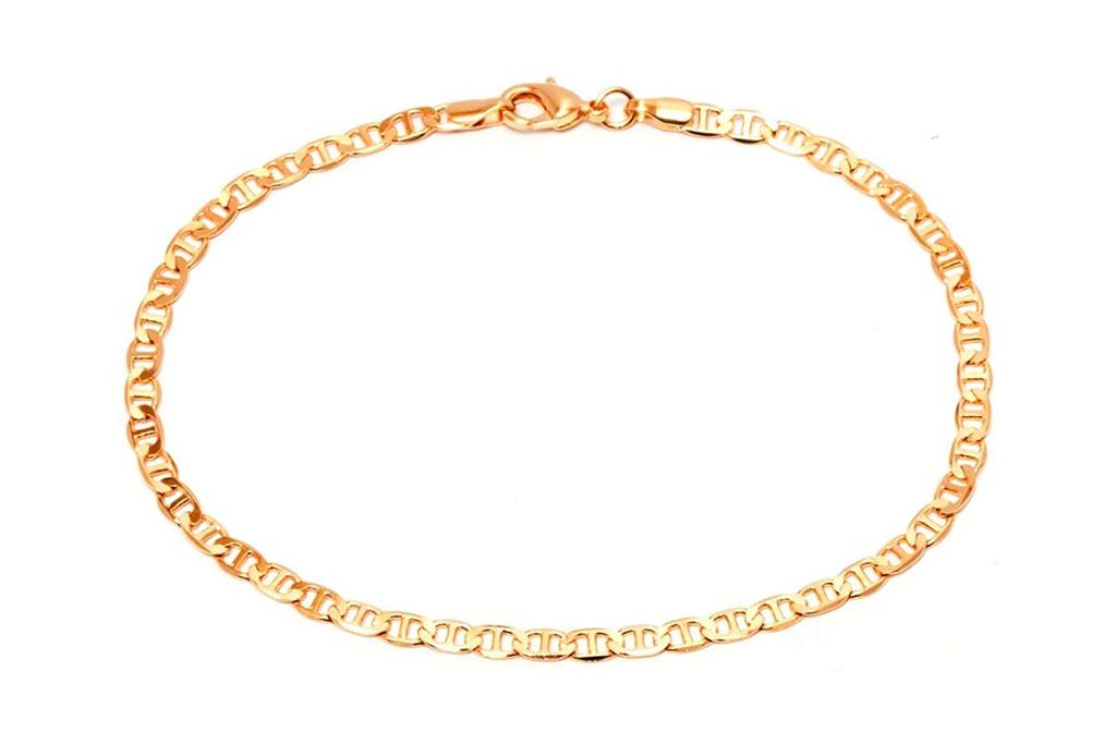 gold, anklet