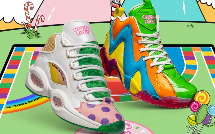 reebok, candy land, sneakers, collab, release,