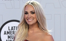 carrie underwood, gown, latin american music