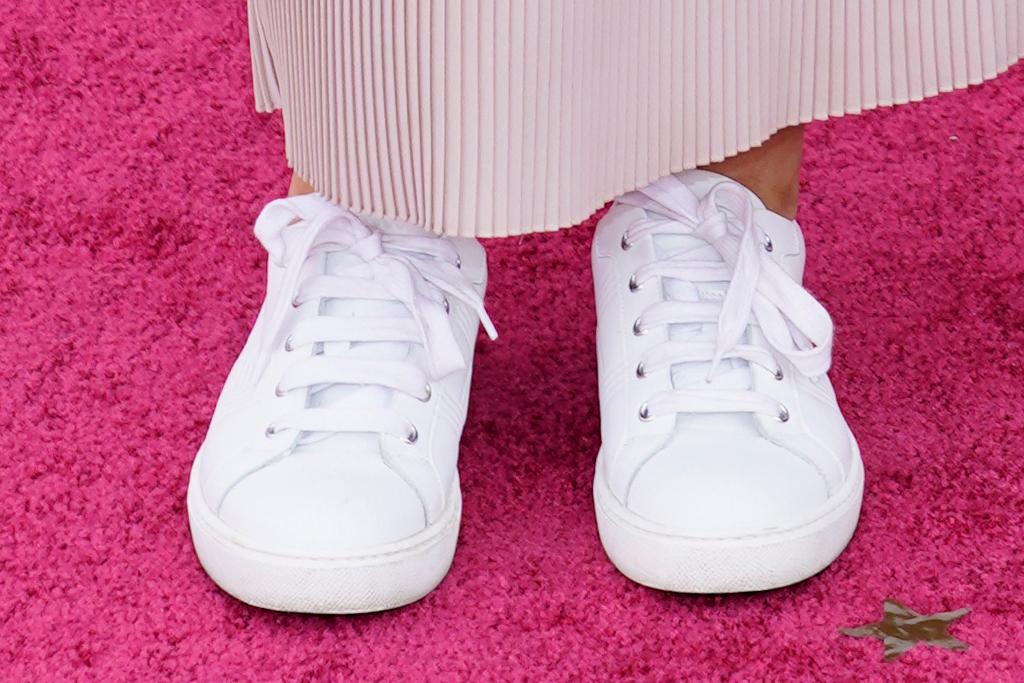 chloe zhao, oscars, history, dress, nomadland, director, sneakers, red carpet, award