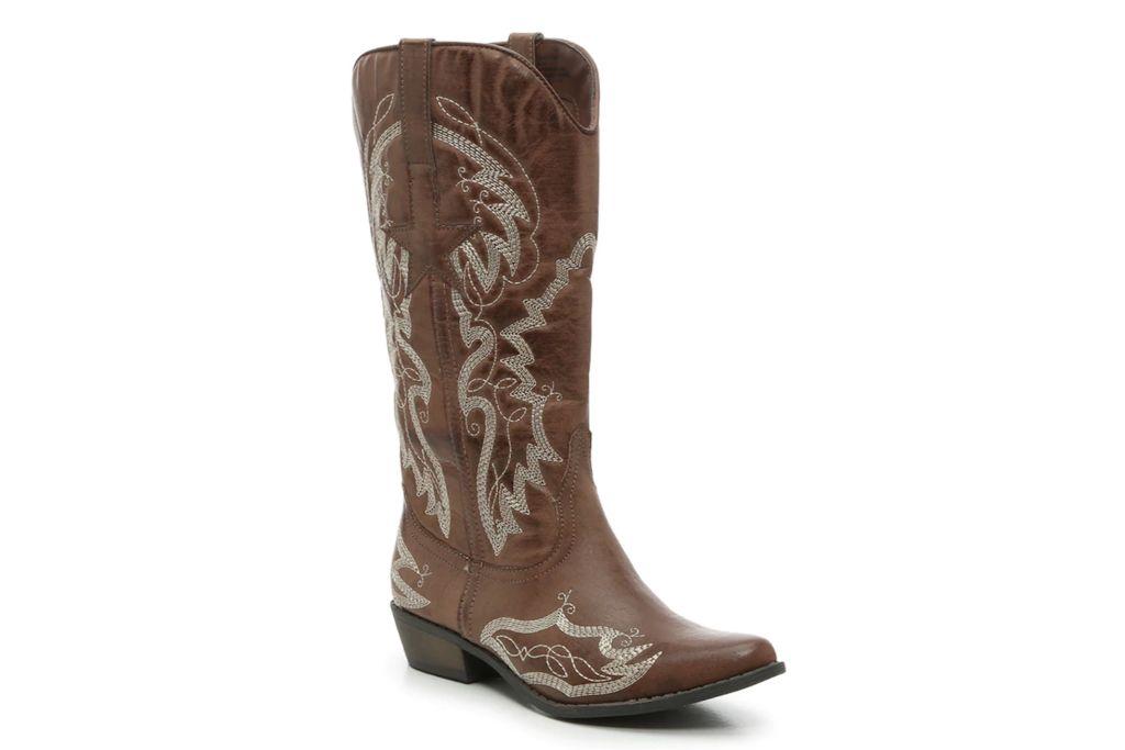 Coconuts Lonestar Cowboy Boot, Cowboy Boots, Brown Boots