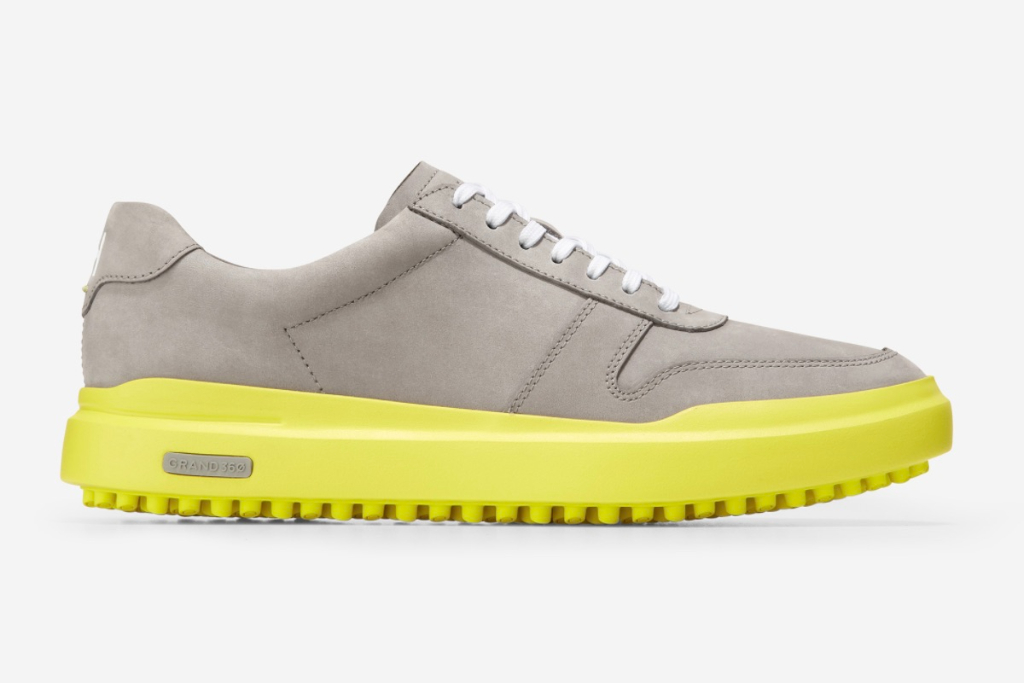 Cole Haan, GrandPro Am Gold Sneaker, Golf Shoes
