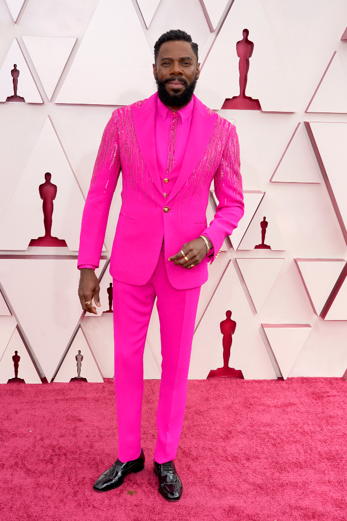 Colman Domingo, Pink Suit, Oscars 2021