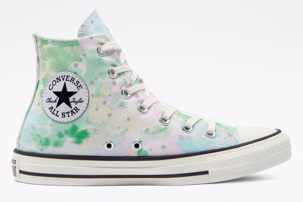 converse, sneakers, floral