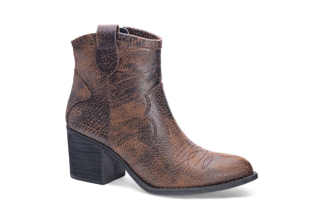 Dirty Laundry Unite Western Bootie, Cowboy Boots, Brown Boots