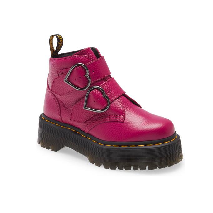 Dr. Martens Devon Heart Platform Boot