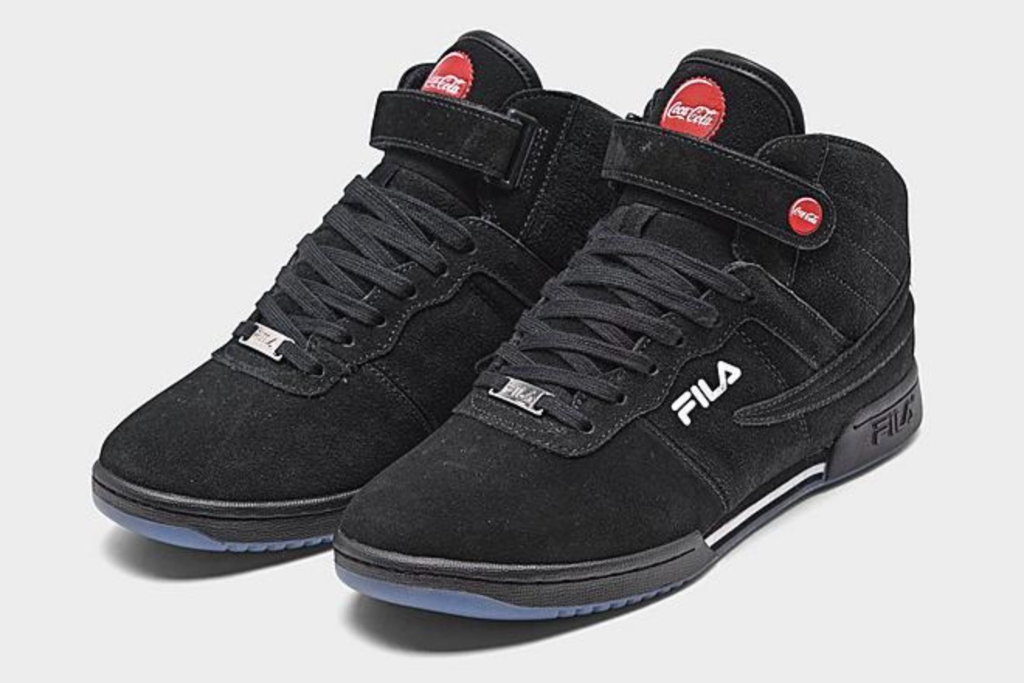 Fila, Coca-Cola, F-13 Shoes, Black Sneakers