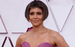 halle berry, gown, dress, oscars 2021,
