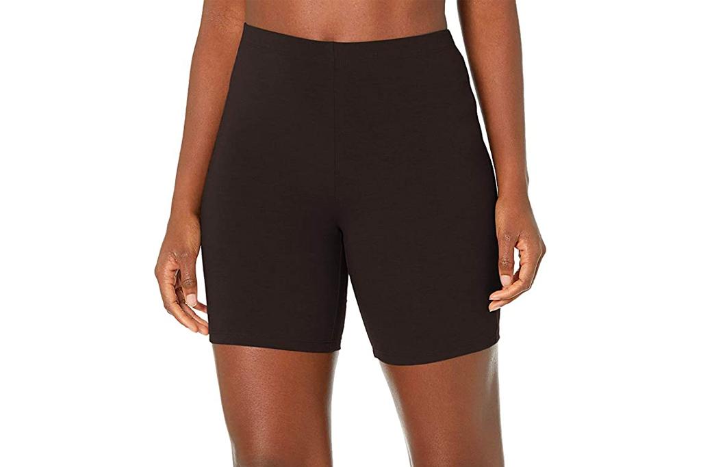 hanes, biker shorts,