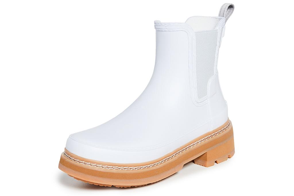 white boots, hunter