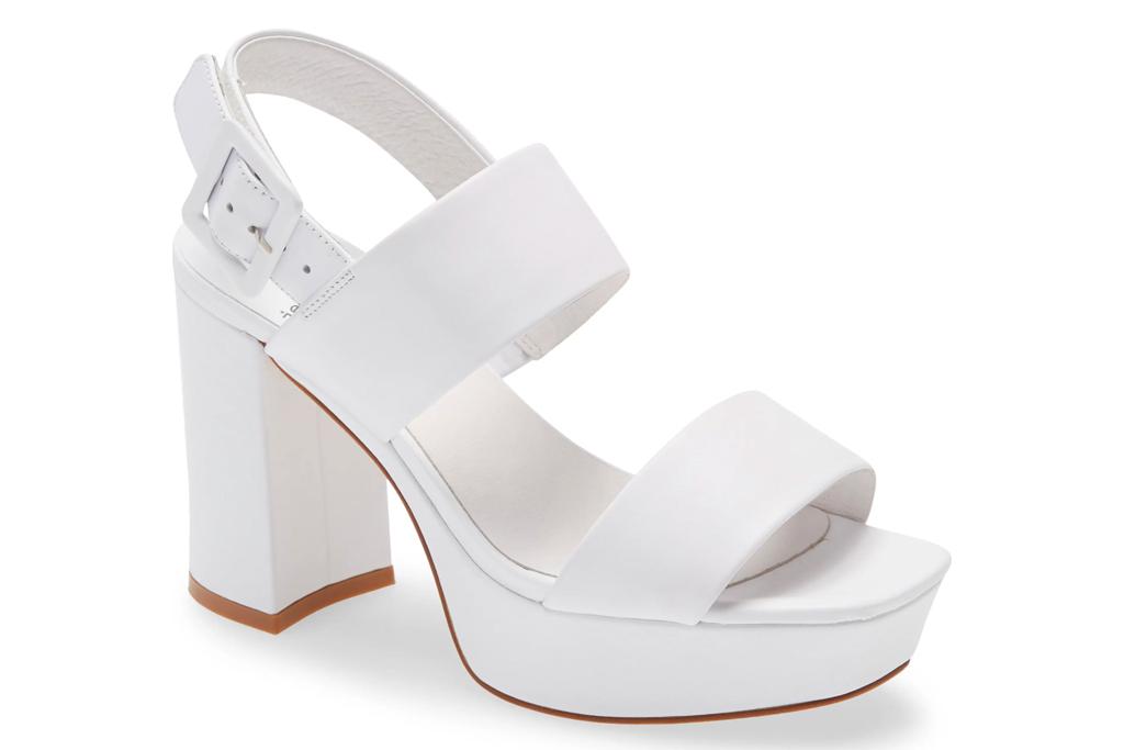 jeffrey campbell, white sandals, heels