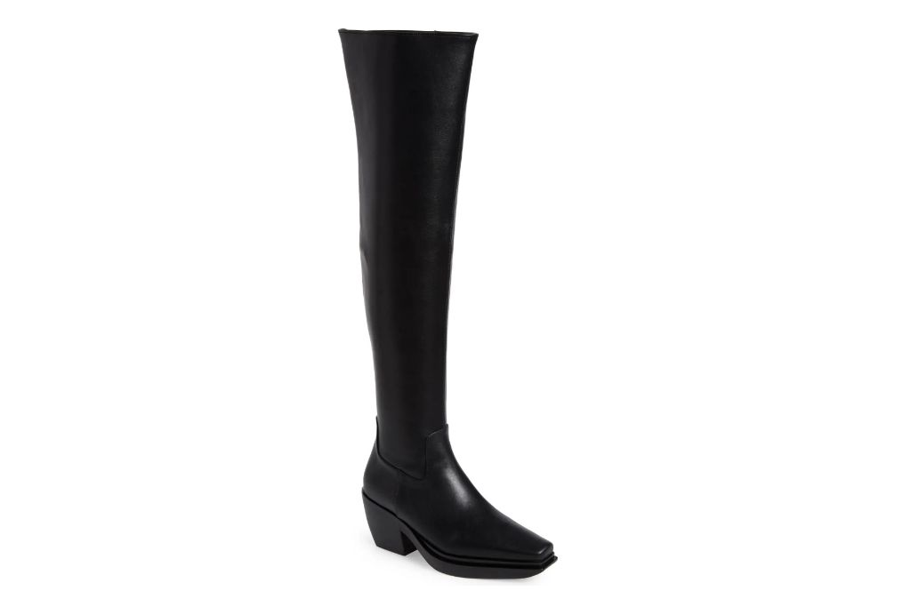 Jeffrey Campbell, Zelton Over the Knee Boot, Black Boots