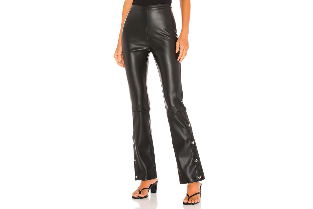 leather pants, revolve