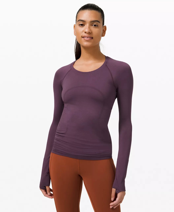 Lululemon Swiftly Tech Long Sleeve 2.0, best mother's day sales