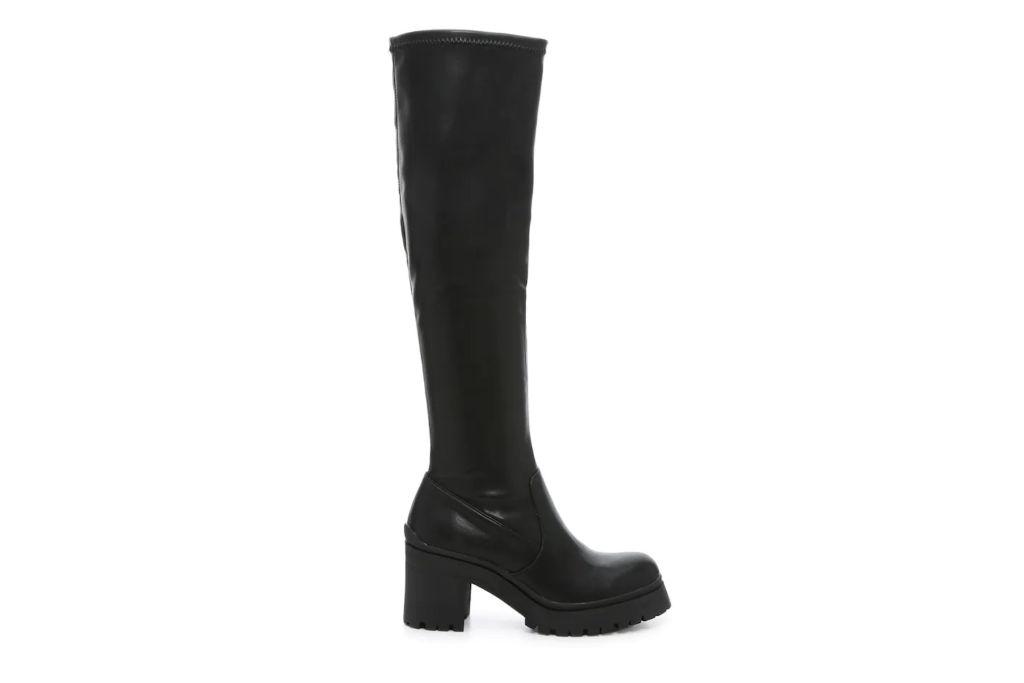 madden girl, corretta boot, chunky black boots