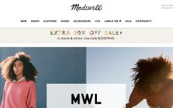 Madewell website