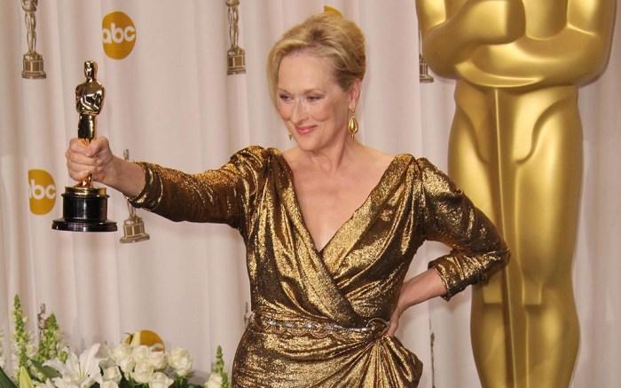 Meryl Streep, Oscars, 2017