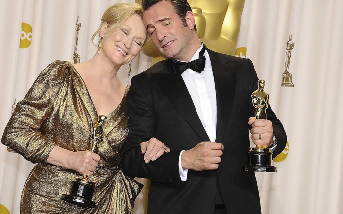 L.A.:   Best Actress and Best Actor, 84th Annual Academy Awards – Press room