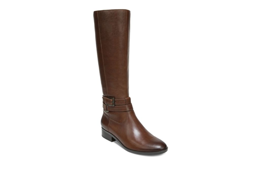 Naturalizer, Reed Riding Boot, Brown Knee High Boots