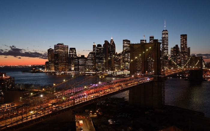 New York City, Skyline, New York