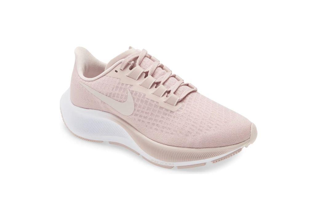 Nike Air Zoom Pegasus 37, Pink Sneakers, Running Shoes