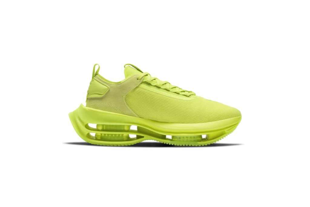 Nike Zoom Double Stacked Sneaker, Neon Sneakers