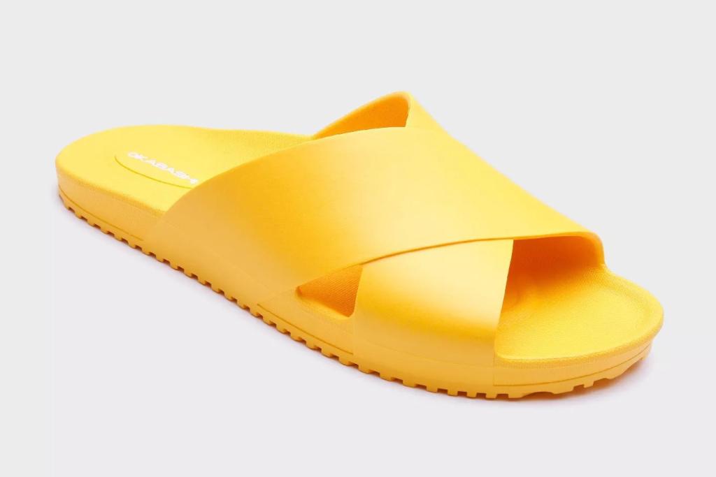 Okabashi Maddox Sustainable Crossband Slide Sandal, Target Sandals