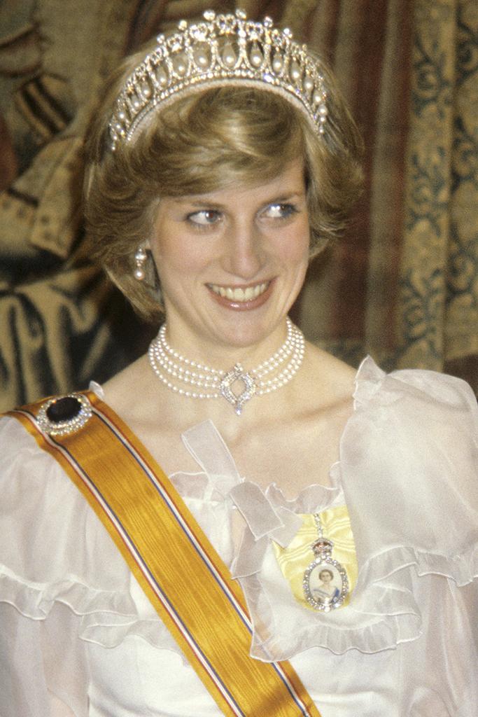 Princess Diana Queen's necklace 1982