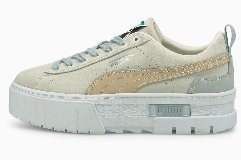 puma, sneakers, mayze, platform