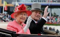 Queen Elizabeth, Pink Coat, Prince Philip,