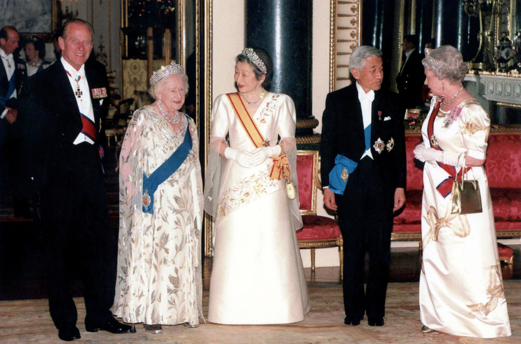 Queen Elizabeth, Ribbon Gown, prince philip